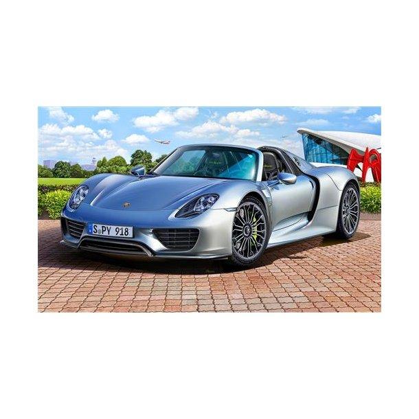 07026 Revell Porsche 918 Spyder 1/24