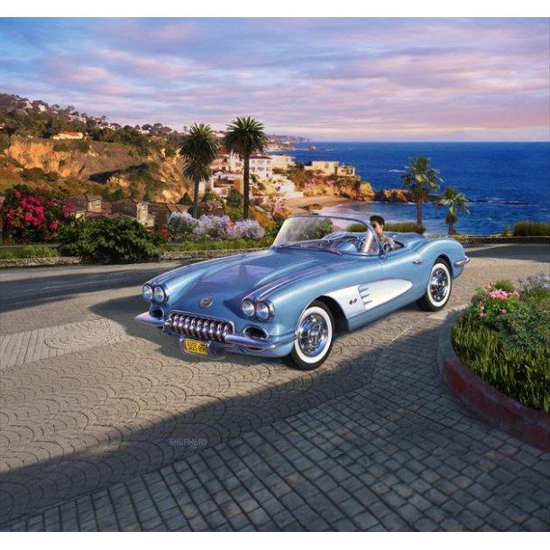07037 REVELL 58 Corvette Roadster. 1:25