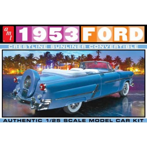 1026 AMT 1953 Ford Convertible