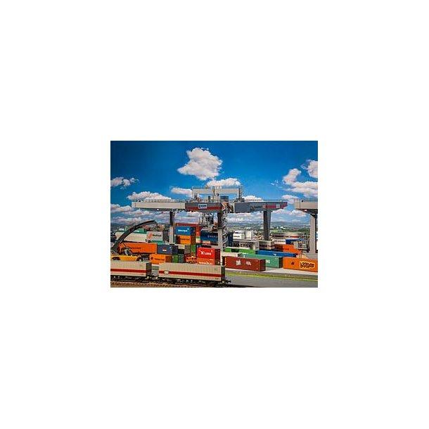 120290 FALLER Container kran. H0