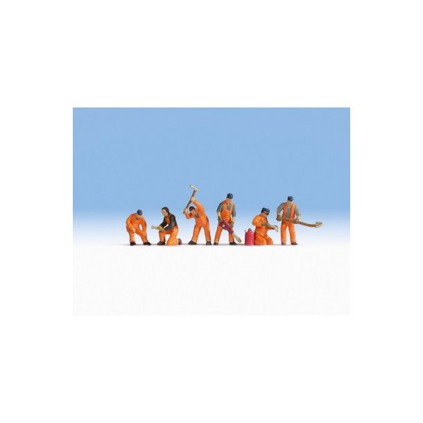 15276 NOCH Skinne arbejdere. H0.
