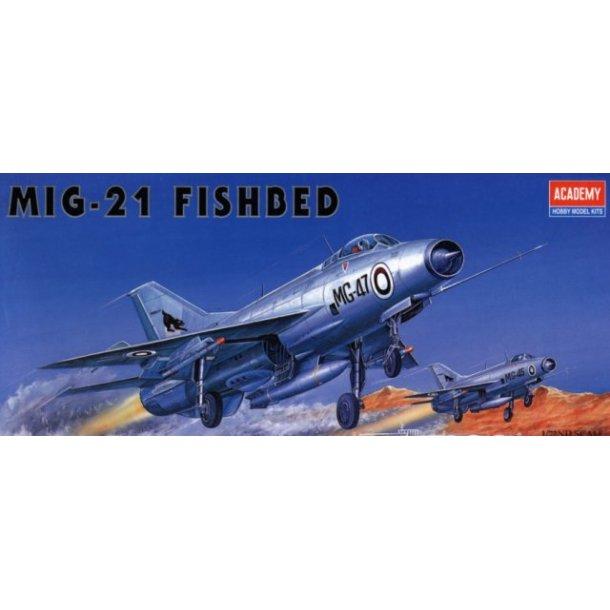 1618 Akademy. MIG-21 FISHBED. 1:72