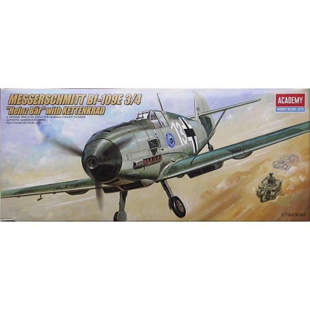 2214 Akademy. MESSERSCHMITT Bf-109E 3/4. 1:72