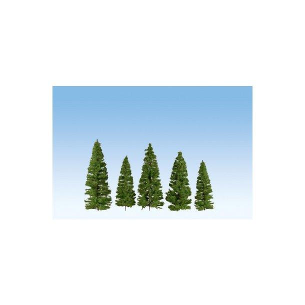 24500 NOCH Mørkegrønne grantræer.  7 - 14 cm.