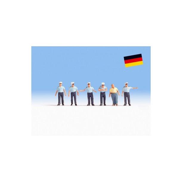 36083 NOCH Tyske politifolk. N