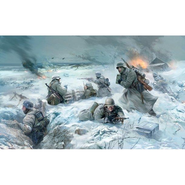 3627 ZVEZDA. German Infantry. Eastern Front. Winter 1941-1942