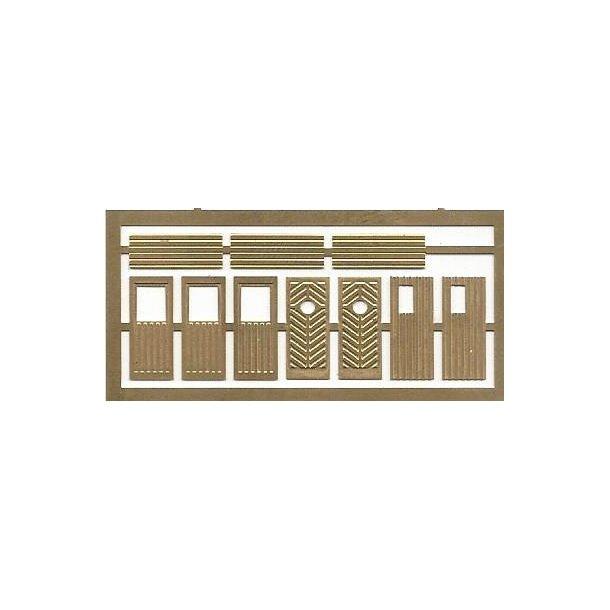 4013 JHR & GH Models. 10 døre til huse/sommerhuse. N