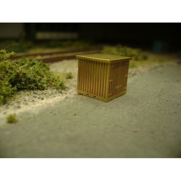 4047 JHR & GH Models. 6 fod container. N