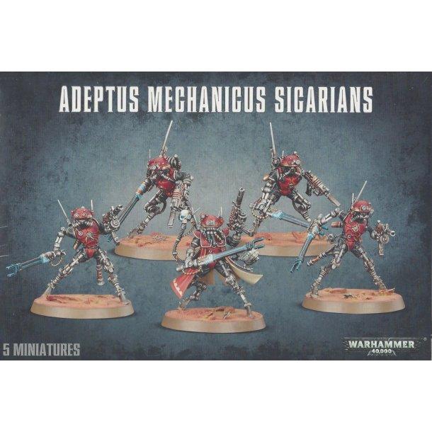 59-11 WARHAMMER Adeptus Mechanicus Sigarians.