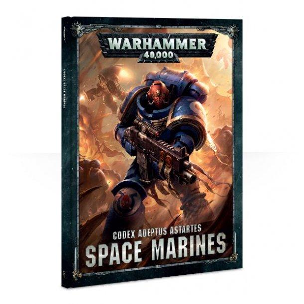 60 03 01 01 036 WARHAMMER håndbog Space Marines. 48-01 (Engelsk)