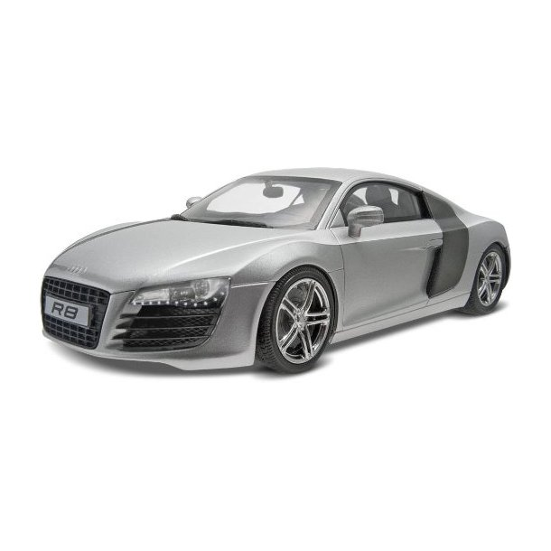 07398 REVELL Audi R8. 1:24 INCL maling.