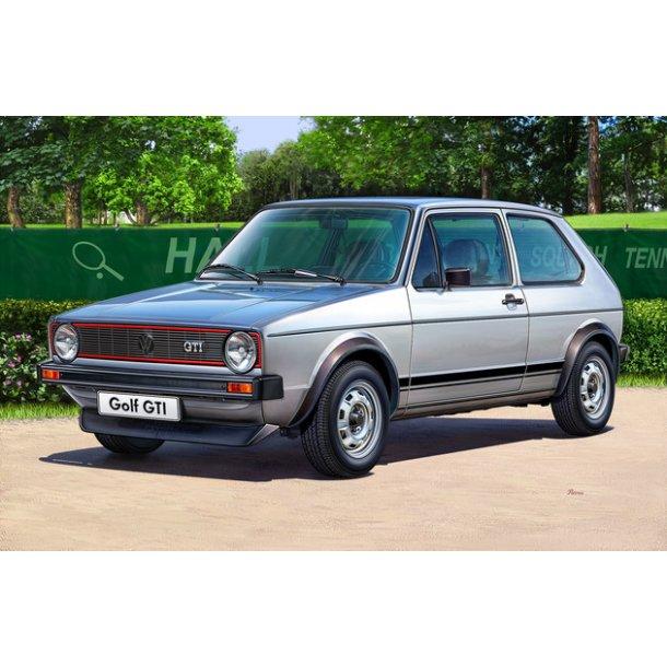 07072 Revell VW Golf 1GTI 1/24 INCL Maling, lim og pensel.