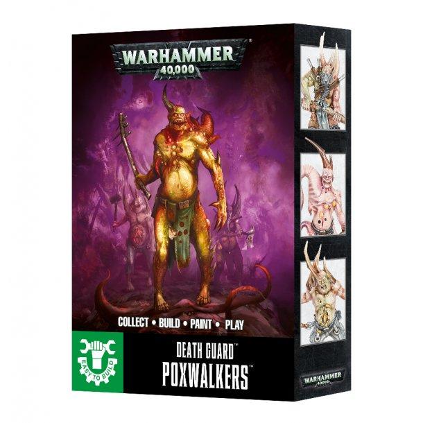 43-41 WARHAMMER. Death Guard Poxwalkers.