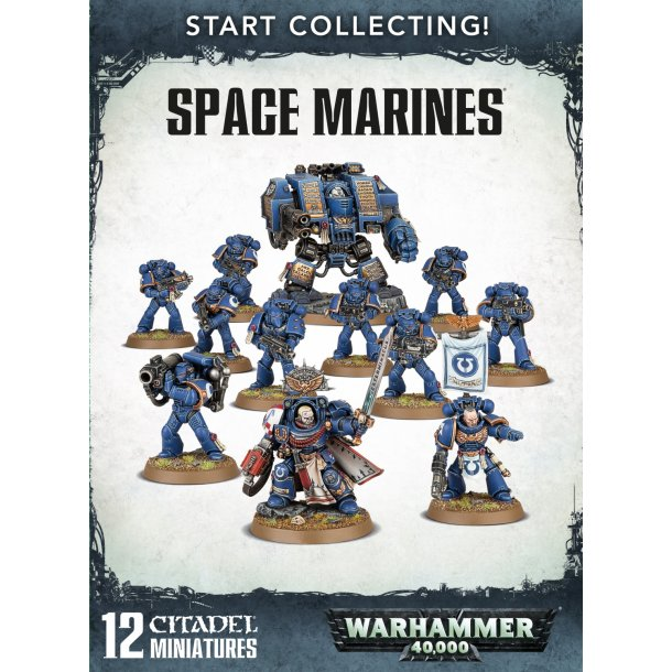 70-48 WARHAMMER Start Collecting Space Marines