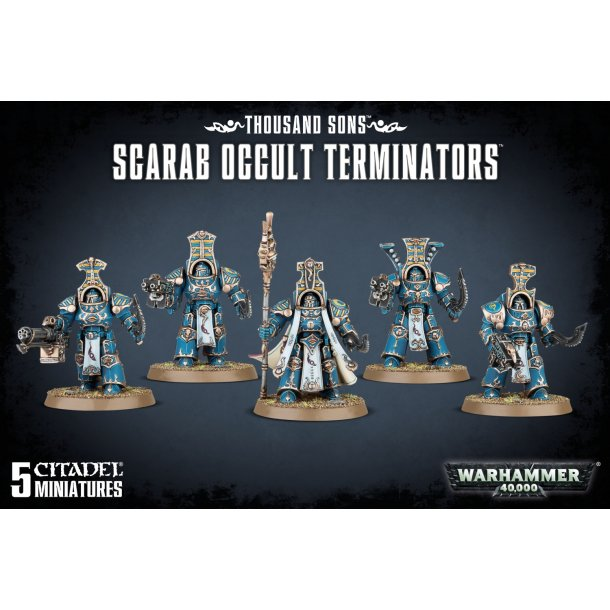 43-36 WARHAMMER. Scarab Occult Terminators.
