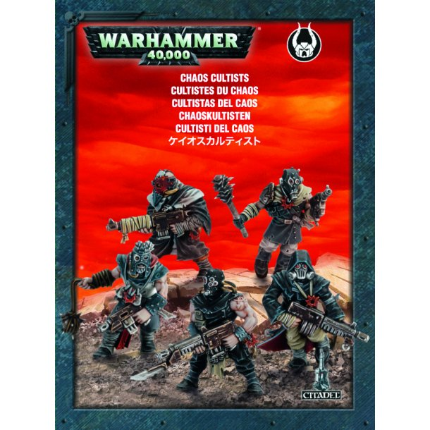 35-34 WARHAMMER. Chaos Cultists.