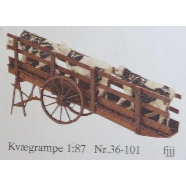 36-101 Epoce modeller. 1 stk. Kvægrampe H0