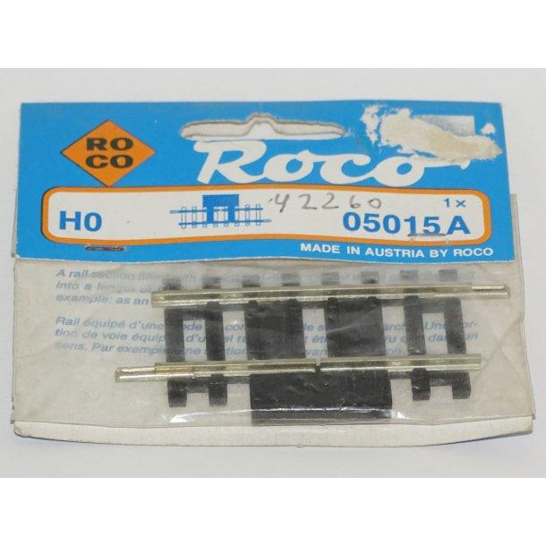 05015A / 42260 ROCO skinne stump på 5,7 cm. H0