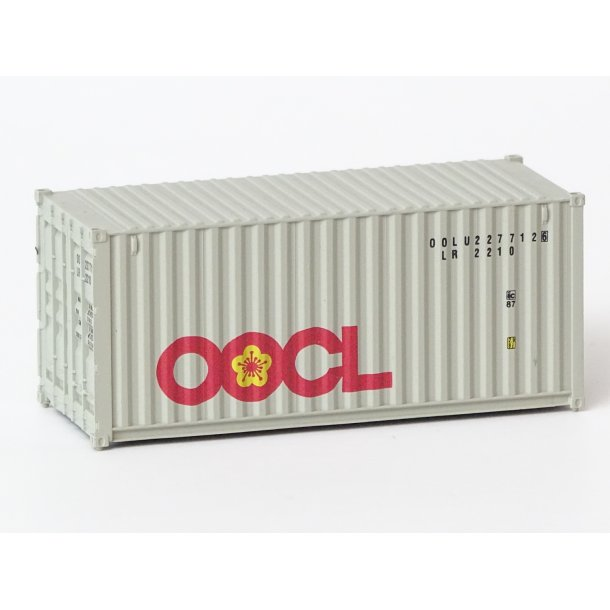 2005 Walthers OOCL 20 fod container 1 stk