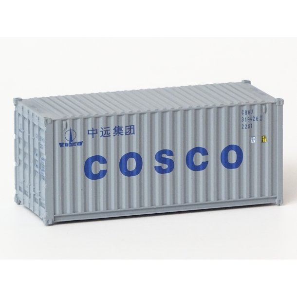 2013 Walthers COSCO 20 fod container