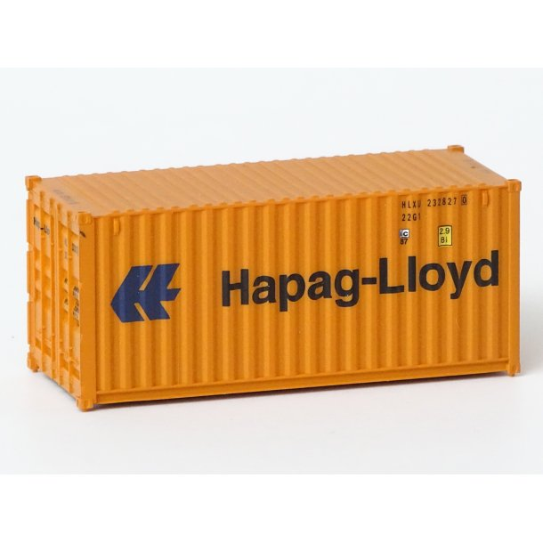 2016 Walthers HAPAG-LLOYD 20 fod container
