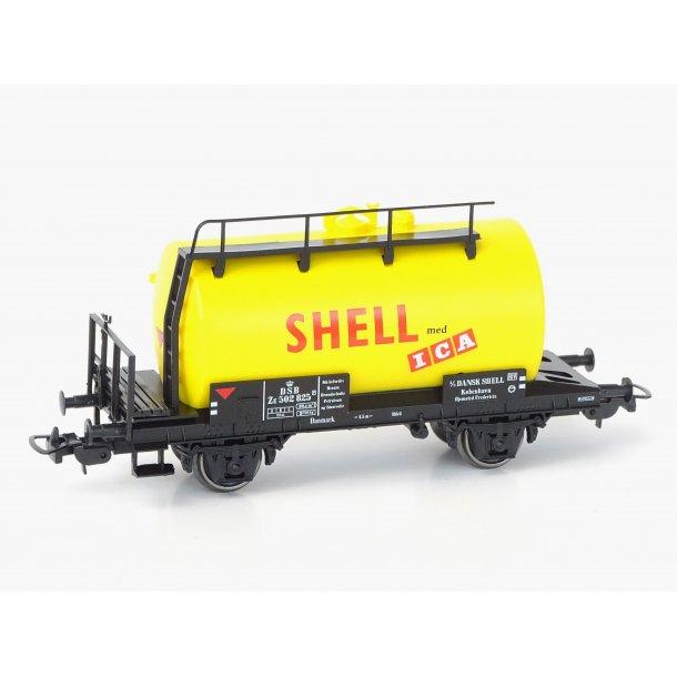PIKO 96069 Shell tankvogne Hjemsted Fredericia. - H0 -