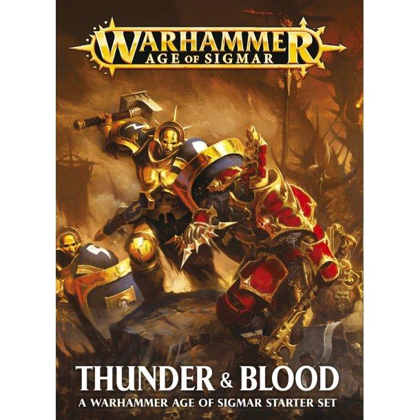80-19-60 WARHAMMER Thunder & Blood.