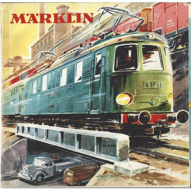 Je 296 MÄRKLIN Katalog 1958. Brugt