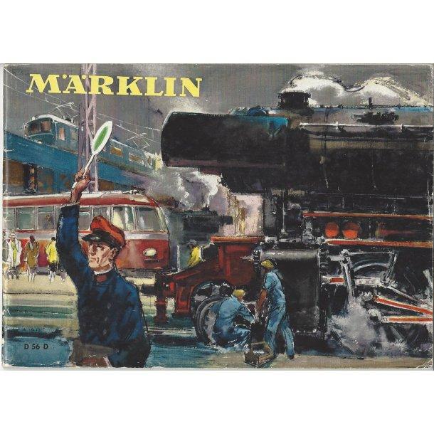 Je 298 MÄRKLIN Katalog 1956. Brugt