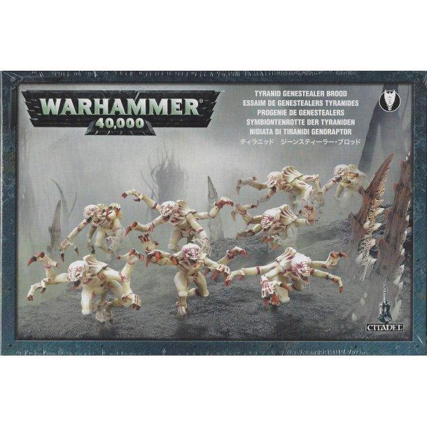 51-06 WARHAMMER. Tyranid Genestealers.