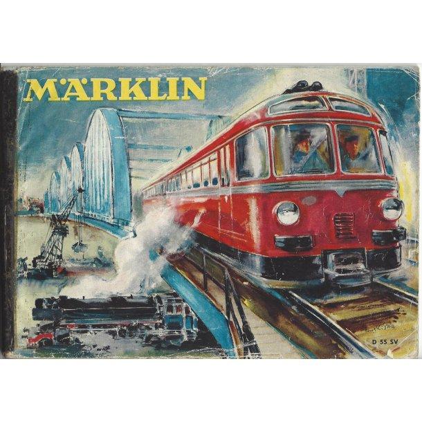 Je 299 MÄRKLIN Katalog 1955. Brugt