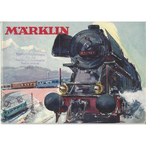 Je 300 MÄRKLIN Katalog 1954. Brugt