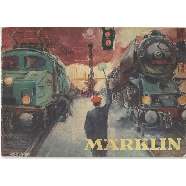 Je 302 MÄRKLIN Katalog 1952. Brugt