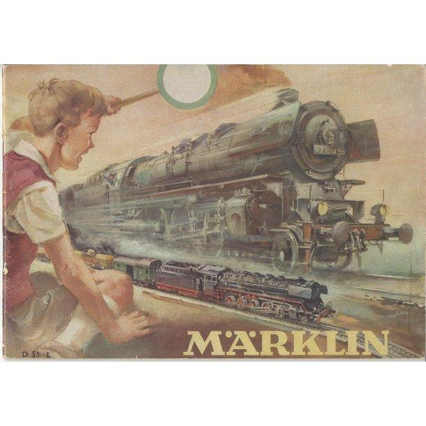 Je 303 MÄRKLIN Katalog 1951. Brugt