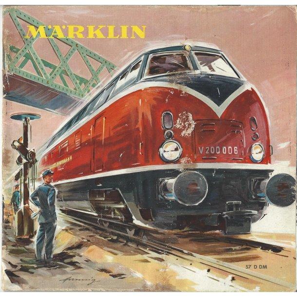 Je 297 MÄRKLIN Katalog 1957. Brugt