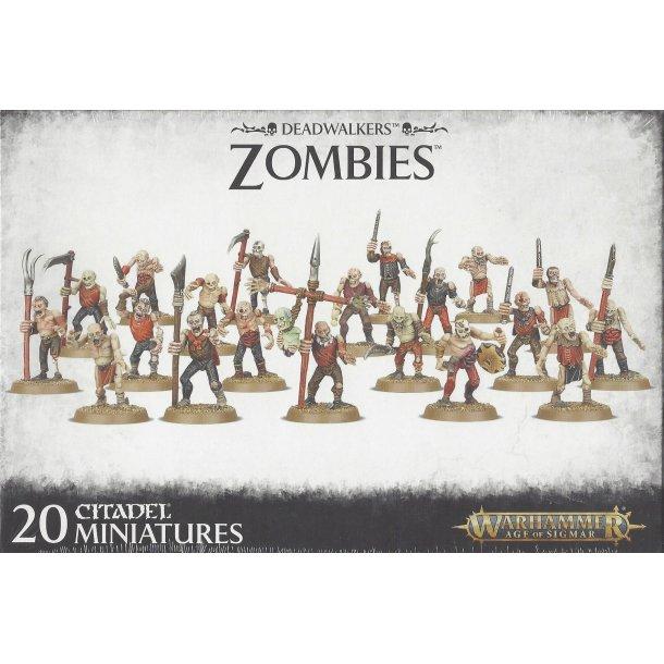 91-07 WARHAMMER Deadwalkers Zombies.