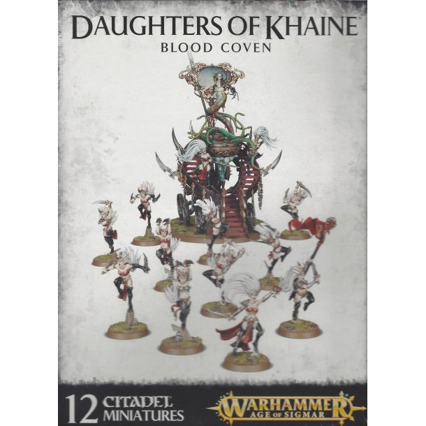 85-17 WARHAMMER Daughters Of Khaine Blood Coven.