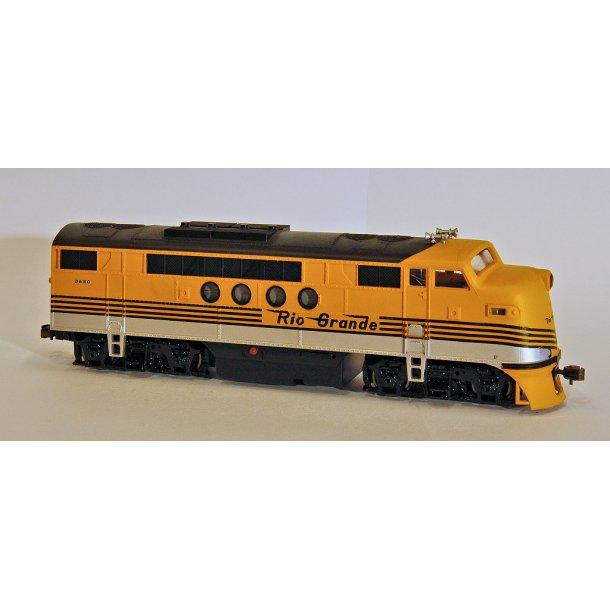 Ja 60117 American EMD FT-A unit diesel loco in Denver & Rio Grande Western