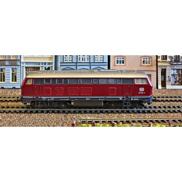 Ja DB 215 ROCO DB 215 061-3. H0. Brugt