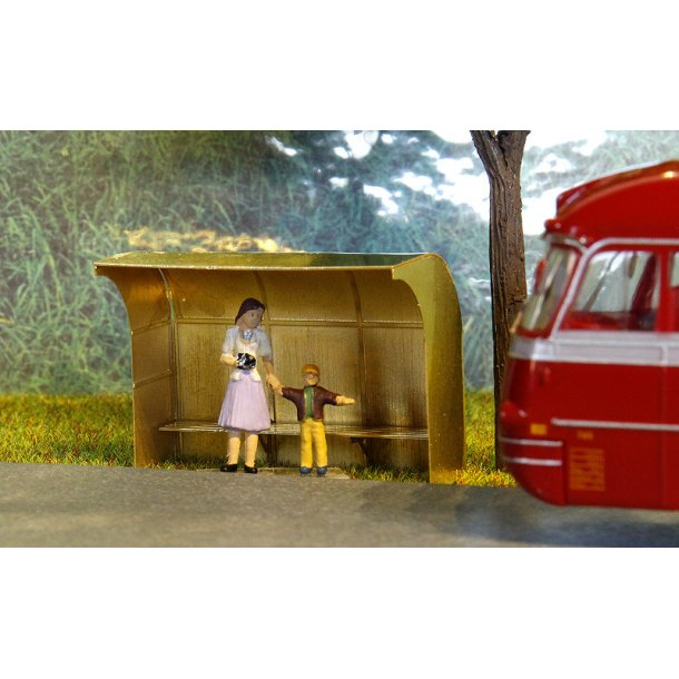 6003 JHR & GH Models. Busskur fra ca. 1950 - 1975. H0