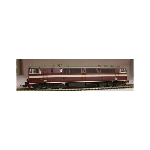 171411 HOBBY TRADE DSB MZ 1411 DC Uden lyd Brun - H0 -