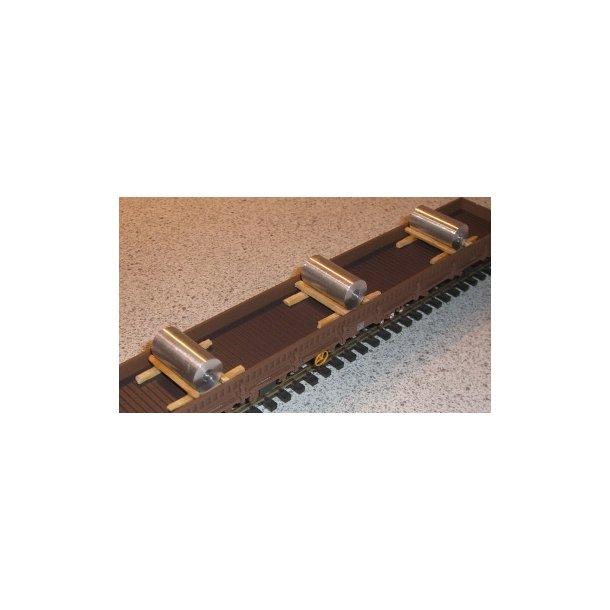 100 - Stål coils (Metalruler) 1 stk.