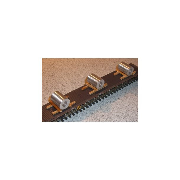 101. Stål Coils (Metalruller) 1 stk.
