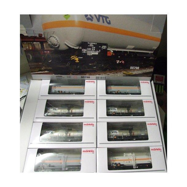 00798 Märklin Tankvogne fra VTG / EVA go ON RAIL - H0 -